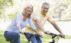 Beat Chronic Fatigue Syndrome - Couple riding bike