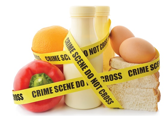 Crime Scene Food Intolerance photo