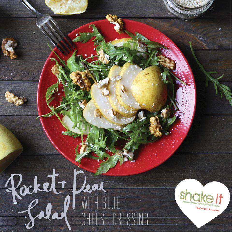 rocket-and-pear-salad