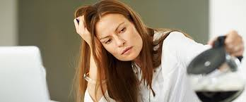 Woman with Chronic Fatigue Syndrome