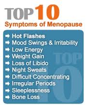 Top 10 Symptoms of Menopause