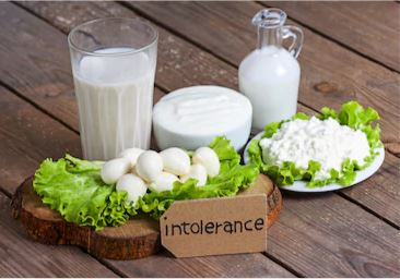 food intolerance testing against lactose