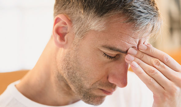 man with Chronic fatigue